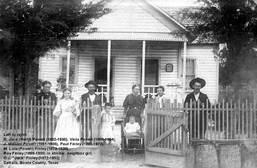 1900 Powell-Finley Family