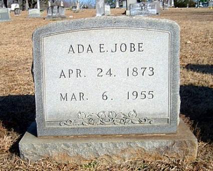 Ada's Tombstone