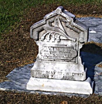 Anna's Tombstone