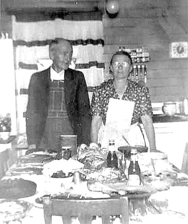 Edgar Payne Jobe and wife, Virgie (Cobb)