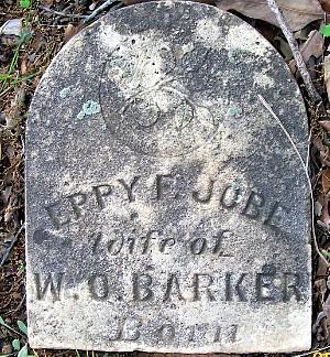 Eppie's Tombstone (top)