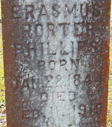 Erasmus' Tombstone