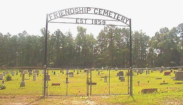 Friendship Cemetery Entrance