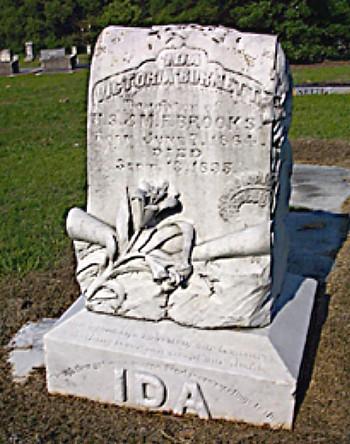 Ida's Tombstone
