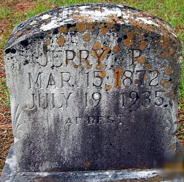 Jerry's Tombstone