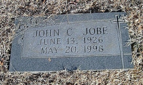 John C. Jobe Tombstone