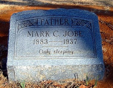 Mark's Tombstone