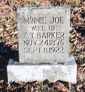 Minnie's Tombstone