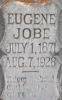 Eugene's Tombstone (closeup