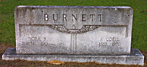 Richard and Nora's Tombstone