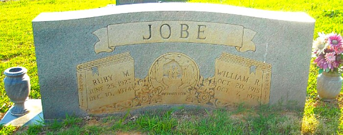 William and Ruby's Tombstone