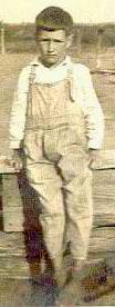 My father as a a young boy about age 9(1928)