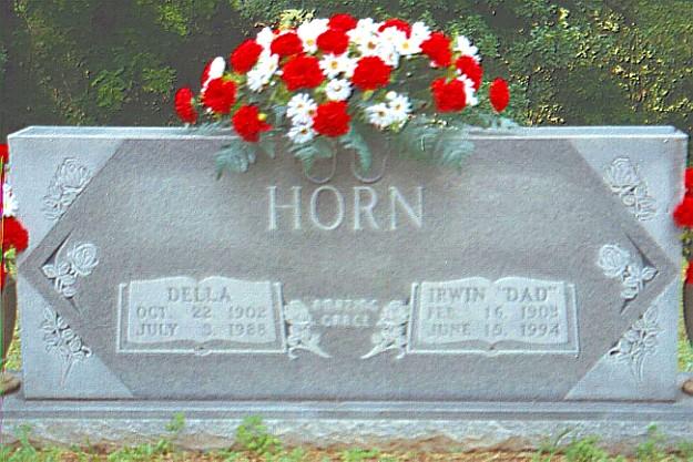 Della and Irwin's Tombstone