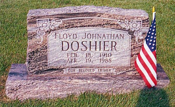 Floyd Jonathan's Tombstone