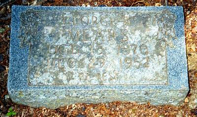 George Wesley's Tombstone