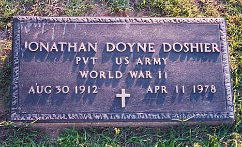 Jonathan Doyne's Tombstone