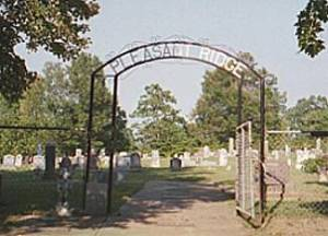 Pleasant Ridge Cemetery Entrance