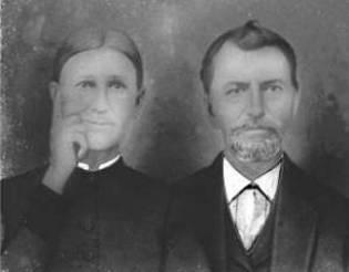 Leonard Hale and Lourana Page (1865)