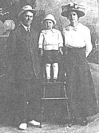 Martha (Page) and husband, George Rigsby and son
