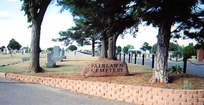 Fairlawn Cemetery Entrance