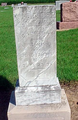 C. L. Wright's Tomb