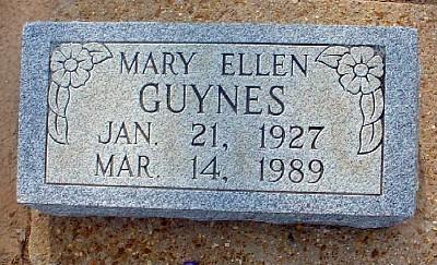 Mary Ellen Tomb
