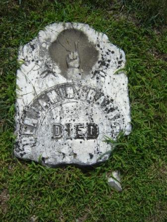 Ben Barrett Headstone