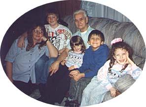 Leroy and grandkids