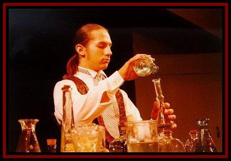 Alex as Dr. Jeckyll