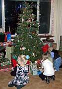 Kaylie Austin and Hayden on Christmas Eve