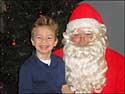 Austin and Santa