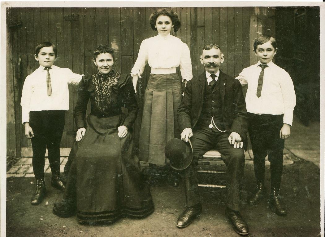 Brdlik family c. 1910 Chicago Ill.