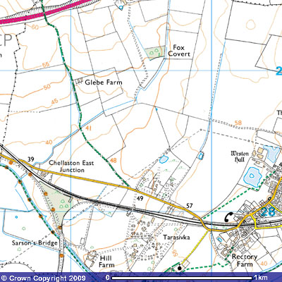 Image © and courtesy of Ordnance Survey Get-a-map