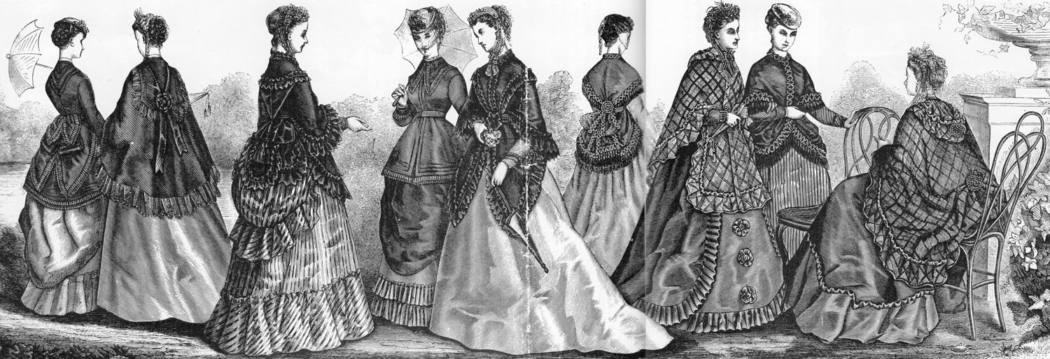 Image courtesy of ictorian Fashions and Costumes from Harper's Bazaar 1867-1898 by Stella Blum