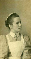 Unidentified young woman, Derby, c.1897