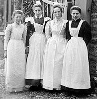 Maids, Charwellton, Northamptonshire, 1903