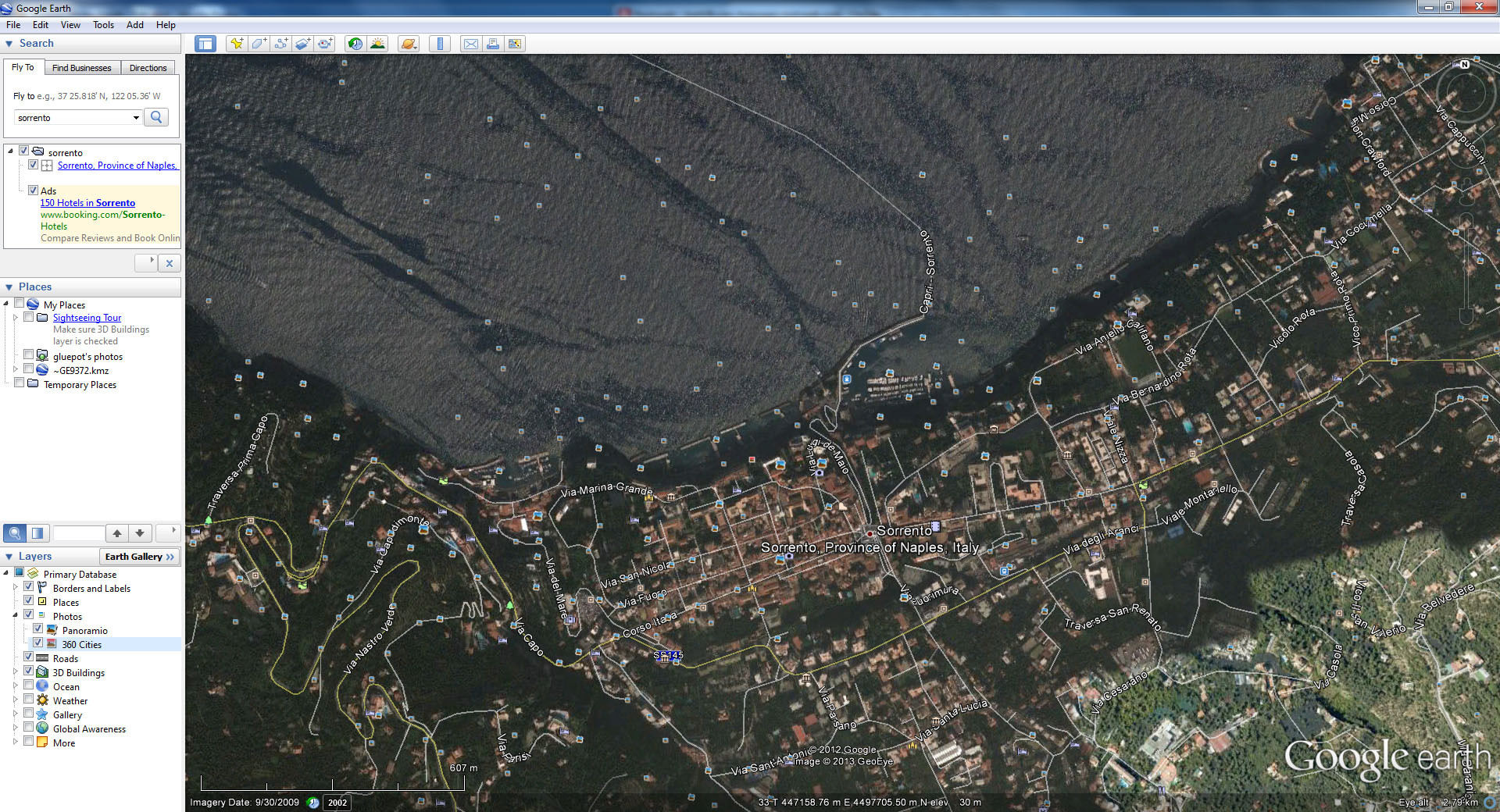 Image © and courtesy of GeoEye & Google Earth