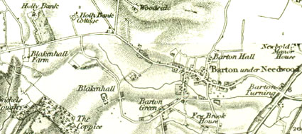 Image © Ordnance Survey and courtesy of David & Charles