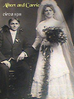 Albert and Carrie circa 1911
