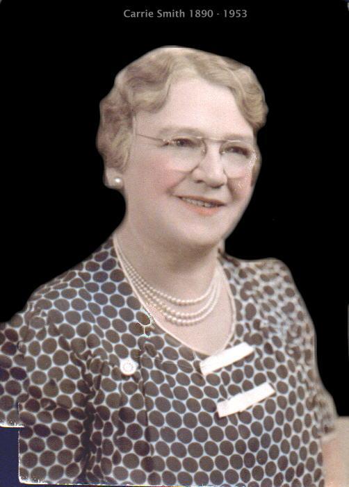 Carrie Smith Nortmann Schlensker 1890-1953