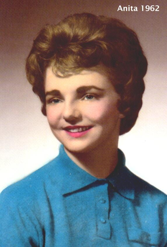 Anita Louise at North College Hill High School abt 1960