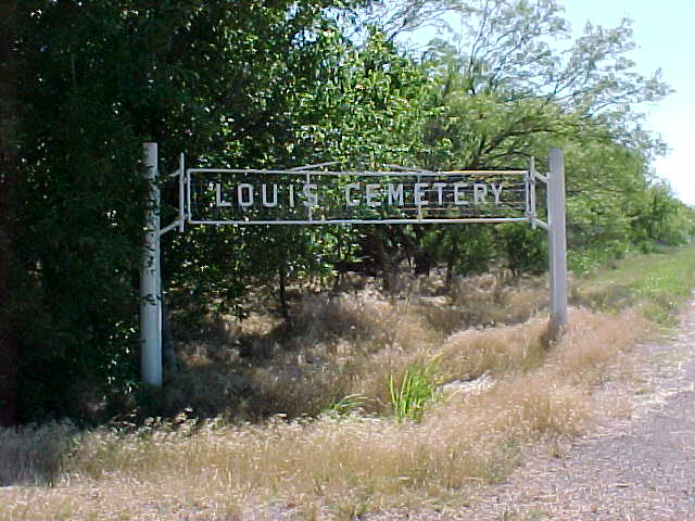 LOUIS CEMETERY aka LOUIS/BETHEL CEMETERY GATE