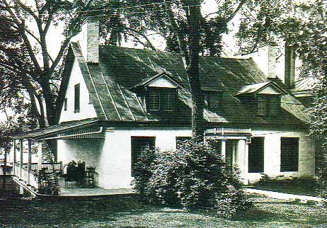 Home of John Mackenzie at Terrebonne