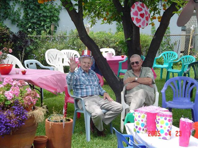 Family Backyard Party Ideas : 80th Birthday Party of June McDaniel Gill