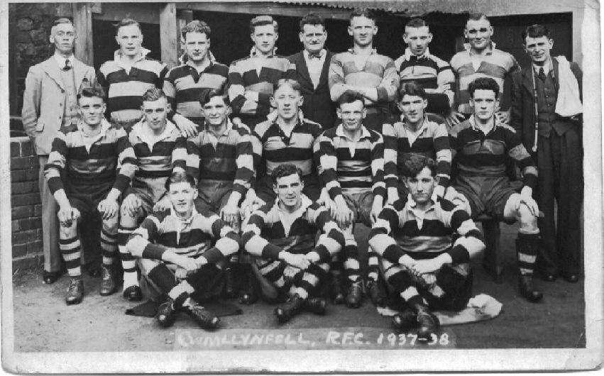 Cwmllynfell RFC 1937/8