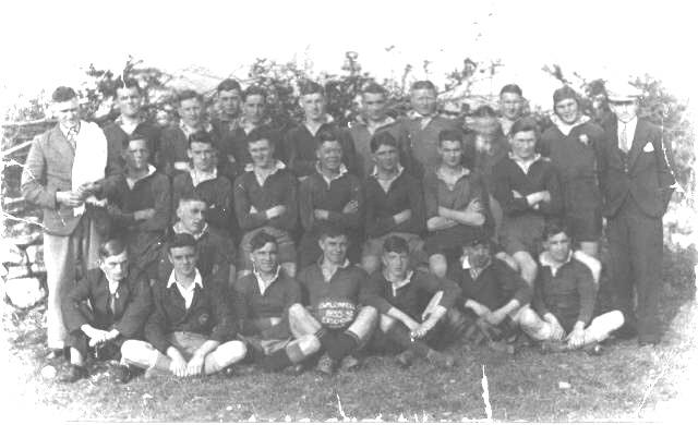 Cwmllynfell RFC Youth 1935