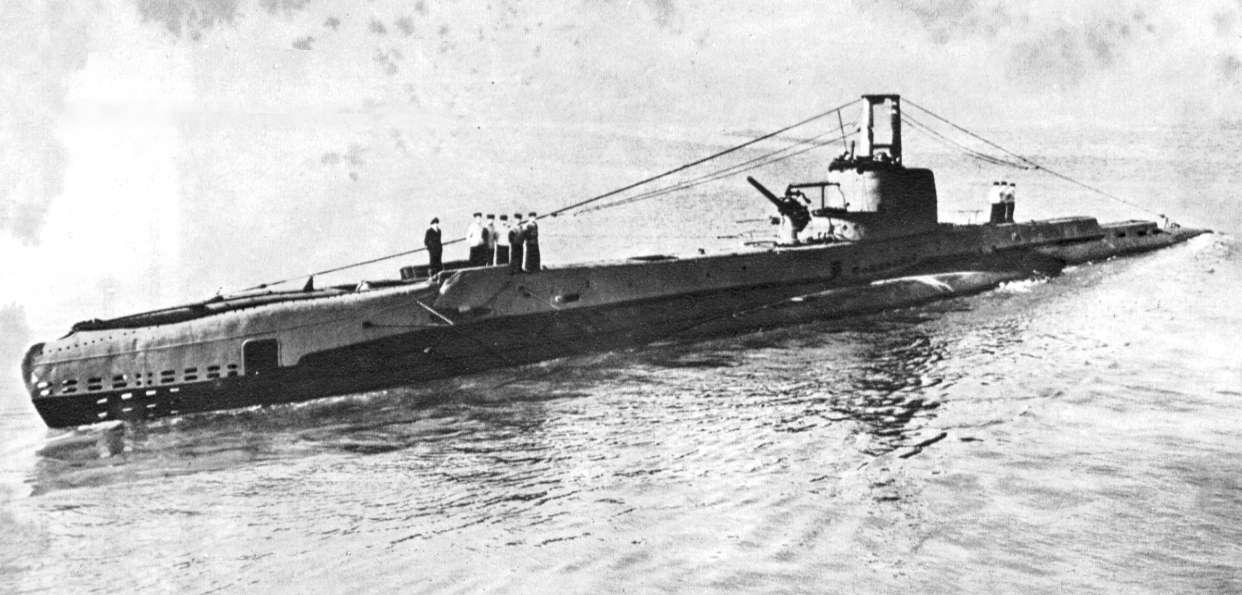 Submarine Graveyards