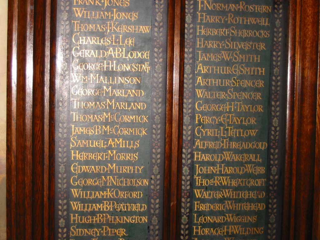 McCormick's on Prestwich War Memorial