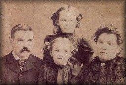 Joseph Hooker Williams family, circa 1900