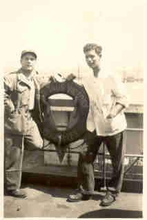Micheal Lucci, Merchant Marines, circa 1946